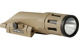InForce WX-06-1 WMLx White Gen2 800 Lumens LED CR123A Lithium (2) Polymer Flat Dark Earth