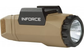 InForce A-06-1 APL Gen 3 White 400 Lumens LED CR123A Lithium (1) Polymer Flat Dark Earth