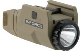 InForce AC-06-1 APL Compact White 200 Lumens CR2 Lithium (1) Flat Dark Earth