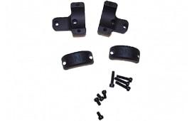 "DNZ 701M2 2-Piece Base/Rings For Rem 700/Howa/Weatherby Vanguard 1"" Rings Medium Black Matte Finish"