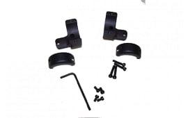 "DNZ SW1TM2 2-Piece Base/Rings For Savage Round Receiver 1"" Rings Medium Black Matte Finish"