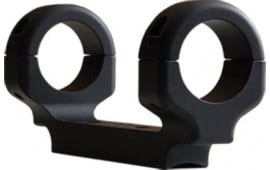 "DNZ AB3L1M 1-Pc Base & Ring Combo For Browning A-Bolt III 1"" Rings Medium Black Matte Finish"