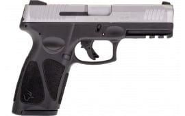 "Taurus 1G394915 G3 4"" 15rd Black/Stainless"