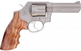 "Taurus 2650041HWD1 65 357 4"" FS Wood MTBLK Revolver"