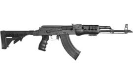 Blackheart Firearms AK-47 Model B10 7.62x39 - Black with Phoenix Technology KickLite Buttstock, Pistol Grip, & Handguard BFV762-B10A-BLKP