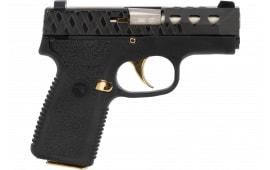 Magnum Research M380 Pocket Pistol 7rd Black/GOLD