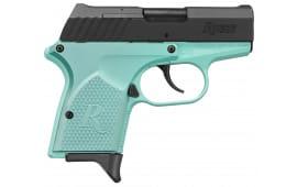 Remington 96453 RM380 380 Micro 2.9IN 6+1 Light Blue/Black