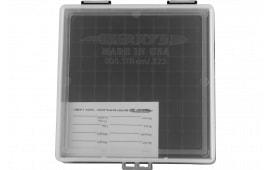 Berrys 03856 005 Ammo BOX .223/556 100rd CLR/BK