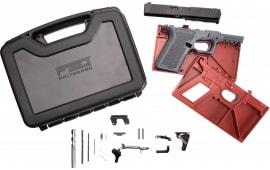 Polymer80 PF940CBBSGRY PF940C Buy Build Shoot Kit Glock 19/23 Gen 3 Polymer Gray 15rd