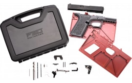 Polymer80 PF940CBBSCOB PF940C Buy Build Shoot Kit Glock 19/23 Gen 3 Polymer Cobalt 15rd