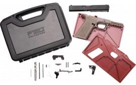 Polymer80 PF940V2BBSFDE PF940v2 Buy Build Shoot Kit Glock 17/22 Gen 3 Polymer Flat Dark Earth 15rd