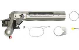 Savage 18636 Target Action 223 Bolt Head Right Bolt Left Load Right Eject Dual Port Stainless Steel