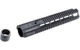 "Hera 110523 IRS AR10 Rifle Aluminum Handguard Black Hard Coat Anodized 12"""