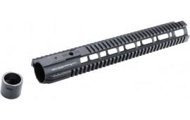 "Hera 110524 IRS AR10 Rifle Aluminum Handguard Black Hard Coat Anodized 15"""