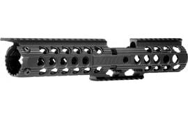"""Troy Sraidltcxbt Battle Rail Delta CX 12"""" AR-15 Aluminum Black"""