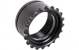 """CMMG 55DA296 Barrel Nut AR-15 All 6061-T6 Steel 9"""" L"""