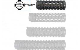 """Yankee Hill 9630DX Diamond Series Forearm 7.3"""" AR-15 Aluminum Black"""