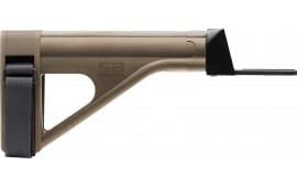 S B Tactical - SOB47-FDE SOB47 Pistol Stabilizing Brace FDE W / AK Adapter