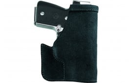 "Galco PRO188B Pocket Protector Inside the Pocket NAA Mini-Revolver 1.625"" 22LR/22 Mag Steerhide Center Cut Black"