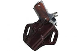 """Galco CON266H Concealable Belt Holster Kimber 1911 w/4"""" Barrel Steerhide Brown"""