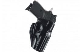 Galco SG600B Stinger Belt Holster Glock 42 Steerhide Black
