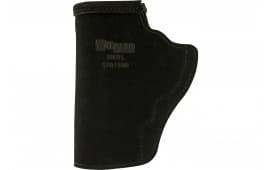 "Galco STO164B Stow-N-Go Inside The Pants 3"" Barrel S&W J Frame Steerhide Center Cut Black"