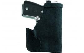 Galco PRO836B Pocket Protector Inside the Pocket Ruger LCP II Steerhide Center Cut Black