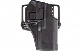 Blackhawk 410514BKR Serpa CQC Concealment RH Matte Finish 14 HK Full Size Polymer Black