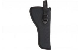 Blackhawk 73NH13BKL Hip Holster Left Hand Size 13 Black Nylon