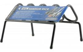 Lockdown 222200 Handgun Rack 4 Guns Metal Black