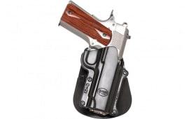 Fobus C21RP Roto Paddle Holster Colt 45 Govt Commander/Officer/1911-Style Plastic Black
