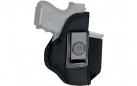 Desantis Gunhide N87BJMAZ0 Pro Stealth Black Holds 1 Extra Magazine Bersa Thunder 380 Nylon