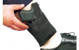 Desantis Gunhide 062BASAZ0 Apache RH Ankle Colt Government 380 Elastic Black