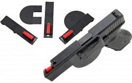 "Versacarry 40MD Semi-Auto 40 S&W Medium 4"" Barrel Resin/Delrin Black/Red"