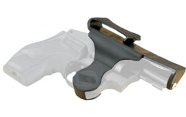 "Versacarry 38XS Revolver 38 Spc/357 Mag X-Small 2"" Barrel Revolver #5 Shot Resin/Delrin Black/Yellow"
