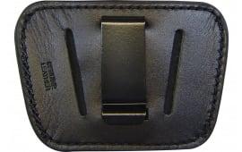 Peace Keeper 035BLK Belt Slide Inside/Outside Pants Medium/Large Frame Auto High Grade Leather Black