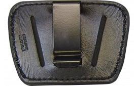Homeland HL036BLK Belt Slide Holster Pistol Small/Medium Black Leather