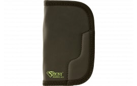 """Sticky Holsters LG-5 Large/Long Revolvers up to 4"""" Latex Free Synthetic Rubber Black w/Green Logo"""
