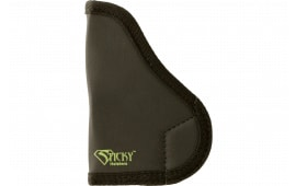 Sticky Holsters SM1 NAA PUG Latex Free Synthetic Rubber Black w/Green Logo
