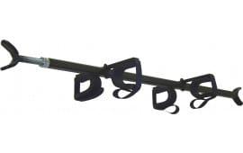 Great Day QD857OGRJ QuickDraw Overhead Gun Rack Jeep Wrangler Aluminum Black