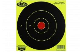 """Birchwood Casey 35906 Dirtybird 6"""" Yellow Bullseye TGT 16PK"""