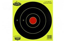"""Birchwood Casey 35950 Dirtybird 8"""" Yellow Bullseye TGT 50PK"""
