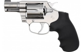 "Colt COBRASB2BB Cobra *CA Complaint 6 Round 2"" Brushed Stainless Steel Black Hogue Rubber Grip Revolver"