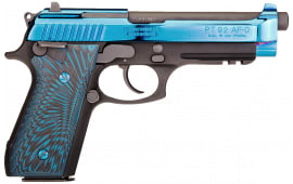 Taurus 1920151PVD2 92 FS Blue PVD G10 17rd MTBLK