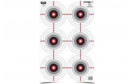 Birchwood Casey 37209 EZE-SCORER 12X18 Multi Bullseye 10PK