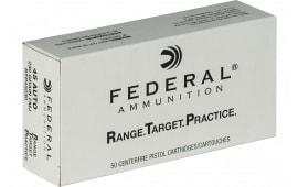 Federal RTP45230 45ACP, 230 Gr. Ammunition, FMJ, Brass, Boxer, Non-Corrosive RNGTRT - 1000 Round Case