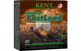 "Kent Cartridge K162UFL285 Ultimate Fast Lead 16GA 2.75"" 1oz #5 Shot - 25sh Box"