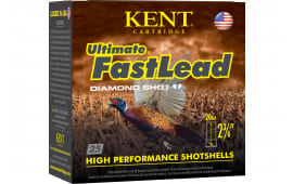 "Kent Cartridge K202UFL286 Ultimate Fast Lead 20GA 2.75"" 1oz #6 Shot - 25sh Box"