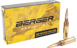 Berger Bullets 31020 6.5 Creedmoor 130 GR HYB OTM Tact - 20rd Box