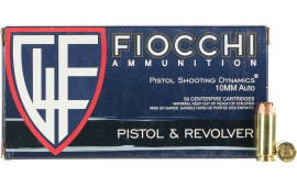 Fiocchi 10APHP 10M 180 Jacketed Hollow Point - 50rd Box